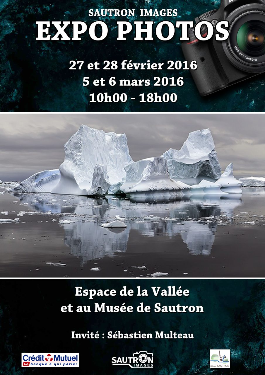Affiche 2016 exposition du Club Photo Sautron Images