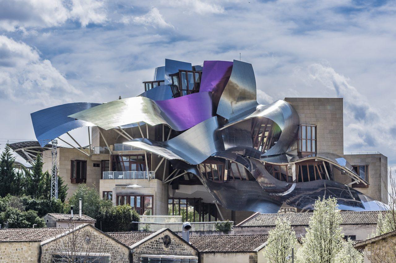 Elciego architecture de O Gehry